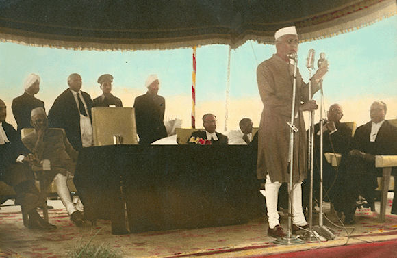Nehru ji Speach